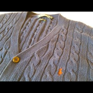 🐎 🧶 Polo Ralph Lauren Cotton Cable Knit SZ L